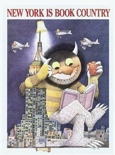 Channeling Maurice Sendak. Reading is such a wild idea!