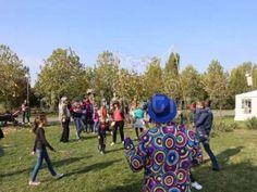 Video about Children enjoying soap bubbles at LollyBoom Festival 2017 - family festival in the Izvor park, Bucharest, Romania.