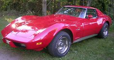 Corvette Stingray. Hope to own one of these someday.