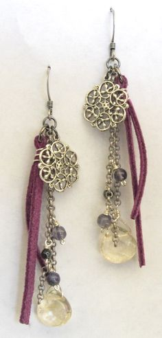 Charming Chain Scrap Earrings. We don't know about you, but we here at Blue Door Beads hate throwing away anything that could potentially be used to make more fabulous jewelry. Here's what we created out of leftover bits of chain!