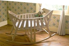 Baby's Rocking Cradle by Martin Price