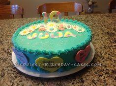 Little Words of Wisdom Birthday Cake...