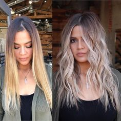 Golden Blonde Balayage for Straight Hair - Honey Blonde Hair Inspiration - The Trending Hairstyle Balayage Hair Blonde Medium, Hair Color Balayage, Ombre Hair, Platinum Blonde Balayage, Bayalage, Blonde Hair Looks, Honey Blonde Hair, Blonde Brunette, Brown To Blonde Hair Before And After
