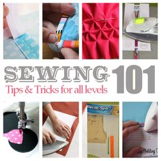 Check out these amazing sewing tips, tricks, and tutorials that have helped me out many, many times.Whether you're new to sewing ...