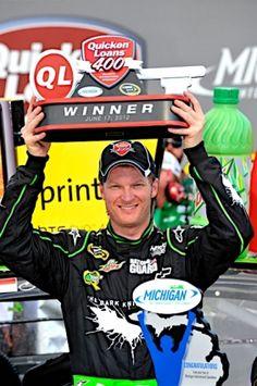 PHOTOS (June 17, 2012): Earnhardt wins at Michigan. More: http://www.hendrickmotorsports.com/news/photos/2012/06/17/Earnhardt-wins-at-Michigan#.