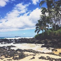 Paako Cove aka Secret Cove aka Makena Cove - Kihei, HI, United States. Such a peaceful spot