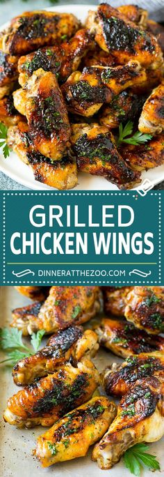 Nutritious Snack Tips For Equally Young Ones And Adults Grilled Chicken Wings Marinated Chicken Wings Grilled Chicken Chicken Wing Marinade, Marinated Chicken Wings, Garlic Chicken Wings, Smoked Chicken Wings, Grilled Chicken Wings, Grilled Chicken Recipes, Best Chicken Recipes, Grilling Chicken, Grilling Recipes