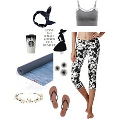 A fashion look from September 2016 by yogareflex featuring Tory Burch, Cult Gaia…