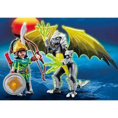 Playmobil Smoki Burzowy smok z wojownikiem, 5465, klocki