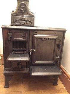 Original Victorian Cast Iron Belle Portable Range Cooker/stove/oven/woodburner