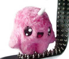 Fluse Kawaii Plush Unicorn Monster Pink by Fluse123 on Etsy, €24.00