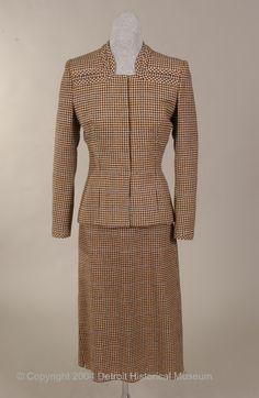 Bess Schlank Suit 1939