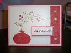 Get well card by dizzyd - Cards and Paper Crafts at Splitcoaststampers