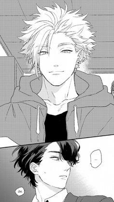 Manga Bl, Manga Love, Manga Anime, Comic Manga, Manga Comics, Comic Layout, Romantic Manga, Anime Reccomendations, Manga Pages