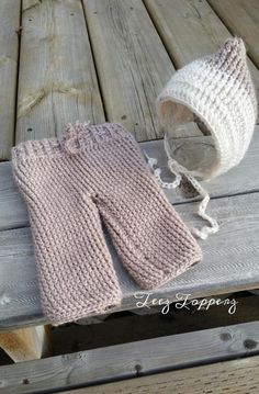 Looking for your next project? You're going to love NB Pants and Bonnet Set by designer Teez Topperz.