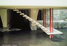 Frank Lloyd Wright. Fallingwater house. Bear Run, Pennsylvania. 1937. #architecture #wright