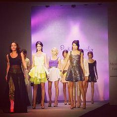 Fashion Week 2012 Mexico Pink Magnolia
