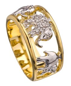 Elephant Carousel Ring