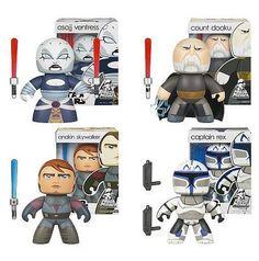 Pack de 4 Mighty Muggs Star Wars. 15cm