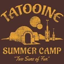 """Képtalálat a következőre: """"tatooine summer camp shirt"""""""