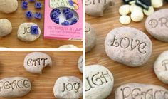 Edible Serenity Stones - Mothers Day Crafts for Kids