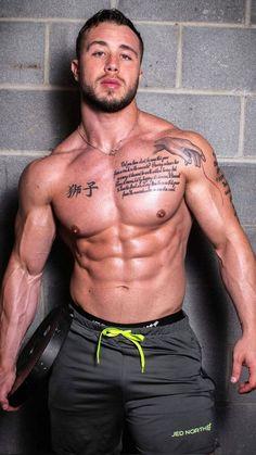 Tatted Men, Fitness Bodybuilding, Body Building Men, Muscular Men, Shirtless Men, Male Physique, Fine Men, Attractive Men, Hot Boys