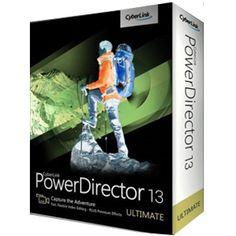 CyberLink PowerDirector 13 Portable Free Software