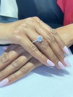 Diamond Halo Engagement Ring Engagement Ring Styles, Halo Diamond Engagement Ring, African Origins, Ring Crafts, Fashion Rings, Natural Diamonds, Vintage Inspired, Thing 1, Stone