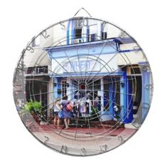 #women - #Annapolis MD - Shopping on Main Street Dartboard With Darts