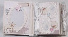 малыш Ангела новорожденных мини альбом для вырезок фотоальбом ручной работы premade держать [ Бога-Терри