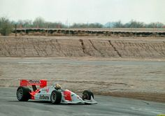 Ayrton Senna - Penske PC21 Chevrolet B - Penske Racing - In December of 1992, Senna flew to the States to test one of Roger Penske's Marlboro-Penske-Chevy Indy cars at Firebird Raceway