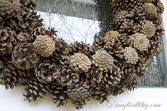 Pine Cone Wreath craft