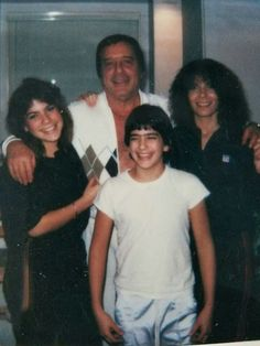 Greg the grim reaper Scarpa with family
