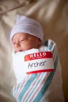 what a cute baby birth announcement