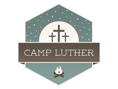 Dribbble - Camp Luther Logo by Lindsey McMurray