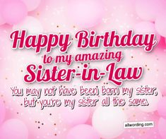 Birthday Message To Sister, Happy 50th Birthday Sister, Birthday Wishes In Heaven, Religious Birthday Wishes, Birthday Greetings For Sister, Funny Birthday Message, Love Birthday Quotes, Happy Birthday Wishes Images, Birthday Wishes For Myself
