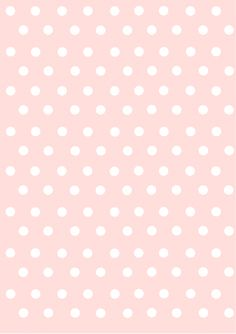 polka dots papers pastel pink