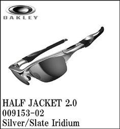 【日本仕様モデル】OAKLEY【オークリー】サングラス HALF JACKET2.0 【ハーフジャケット2.0 アジアンフィット】Silver/Slate Iridium OO9153-02