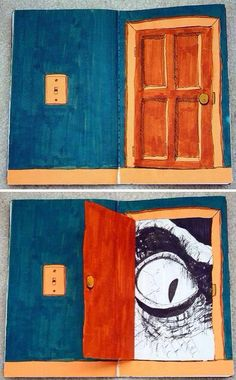 could be a fun project idea . Create an opening . - could be a fun project idea … art class. Create an opening … what … less - Club D'art, Art Club, Classe D'art, Creation Art, 6th Grade Art, Ecole Art, School Art Projects, Middle School Art, Art Lessons Elementary