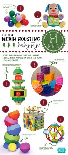 Do you know the skills your 6-9 month old baby will be working on next? Here are the toys that will help her master them. http://incredibleinfant.com/sweet-stuff/best-baby-toys-2013/?utm_campaign=coschedule&utm_source=pinterest&utm_medium=Incredible%20Infant%20%28Heather%20Taylor%29&utm_content=The%20Best%20Brain%20Boosting%20Baby%20Toys%3A%20a%20Just-in-Time%20Buying%20Guide%20for%20Parents