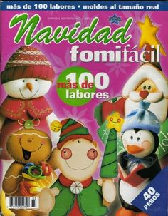 manualidades navideñas en foami