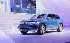 Volkswagen Crossblue Concept Front Three Quarters 2