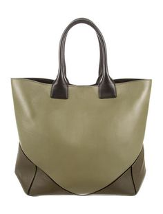 Paneled Easy Leather Tote 8ad66ca513b8d