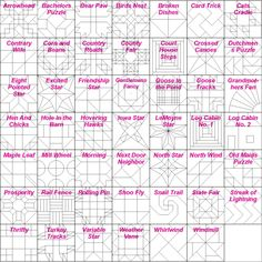 ♥ ☺ BIG BONUS -- BING LINK --- this is a fabulous link to many many visual quilts and many many links to quilt patterns from BING search ... barn quilt patterns...barn quilt patterns...