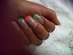 frances bicolor glitter