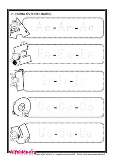 French Language Lessons, English Lessons For Kids, Infant Activities, Preschool Activities, Teaching Cursive, Kindergarten Math Worksheets, Tracing Letters, Preschool At Home, Free Printable Worksheets