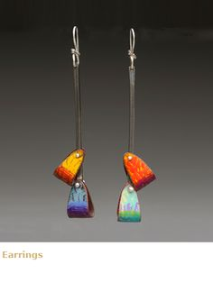 Lauren Pollaro | enamel on copper, sterling silver