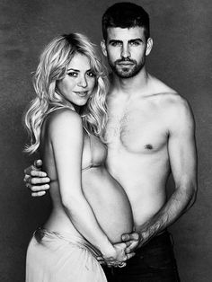 if everyone looked as good as shakira looks pregnant. we'd all be having babies...