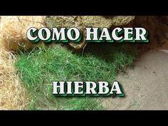 vegetación natural para vuestro belén, os dejo como hacerla, fácil y rápida, espero que os guste y la compart...