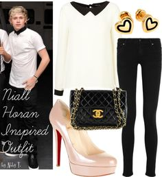 Niall Horan Inspired Outfit, created by abbytamase on Polyvore